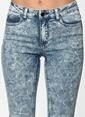 Pieces Jean Pantolon | Normal Bel Skinny Mavi